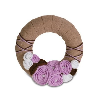 Pavilion Gift 89002 Signs of Happiness Lavender Wreath, 6-Inch by Pavilion Gift Company [並行輸入品]