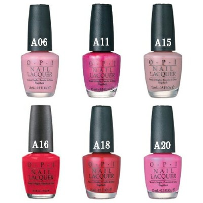 OPI オーピーアイ ポリッシュ A06/A11/A15/A16/A20