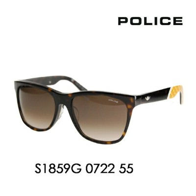 【OUTLET★SALE】アウトレット セール ポリス メガネ サングラス 伊達メガネ 眼鏡 S1859G 0722 55 POLICE