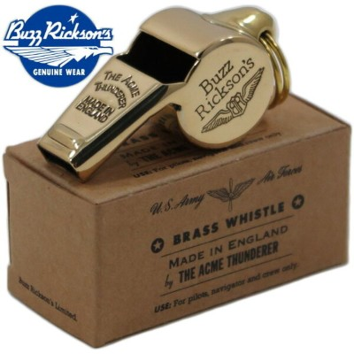 BUZZ RICKSON'S/バズリクソンズ BRASS WHISTLE THE ACME THUNDERER MADE IN ENGLANDバズリクソンズ アクメ社製 イエローブラス・ホイッスル...