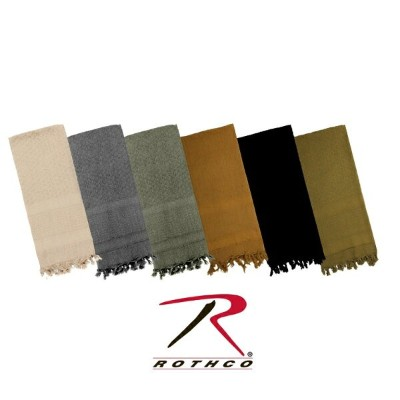 ロスコ 無地 デザートスカーフRothco Solid Color Shemagh Tactical Desert Scarf(9色)8637