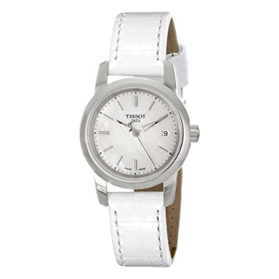 ティソ 腕時計 レディース T0332101611100 Tissot Women's T0332101611100 Classic Dream Analog Quart z White...