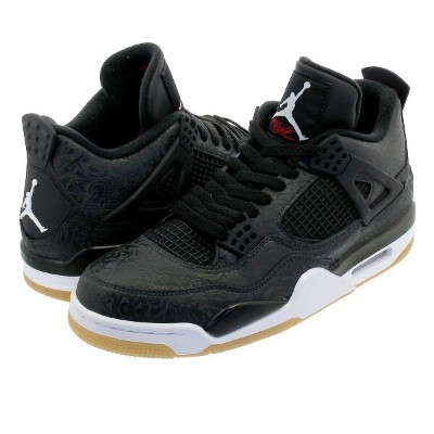 NIKE AIR JORDAN 4 RETRO SE LASER ナイキ エア ジョーダン 4 レトロ SE レーザー BLACK/WHITE/GUM LIGHT BROWN ci1184-001