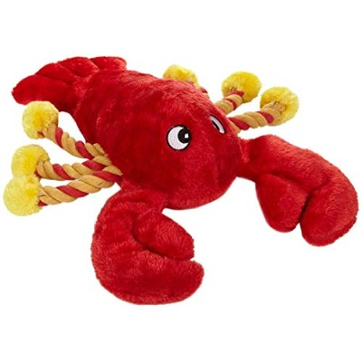 Patchwork Pet Lobster 19-Inch Squeak Toy for Dogs by Patchwork Pet