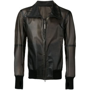 Isaac Sellam Experience classic leather jacket - ブラック
