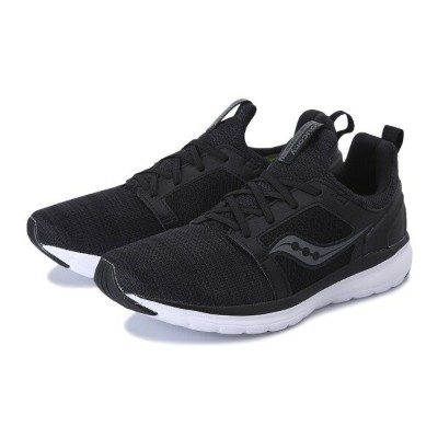 【SAUCONY】 サッカニー STRETCH&GO EASE ストレッチ&ゴー イース S40029-1 BLACK/CHARCOAL