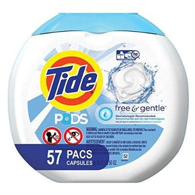 Tide PODS Free & Gentle HE Turbo Laundry Detergent Pacs 57-load Tub by Tide