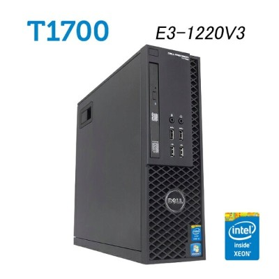 デル DELL Precision T1700 SFF 【XEON E3-1220V3 3.1GHz 8GBメモリ 新品SSD256GB USB3.0 DisplayPort 正規品Office付き...