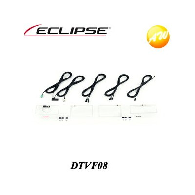 4%OFFクーポン付 【DTVF08】ECLIPSE イクリプス 4×4デジタルTV/GPS一体型フィルムレスアンテナキット【コンビニ受取対応商品】