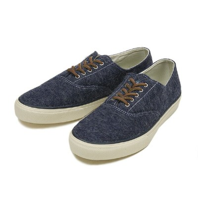 【SPERRY TOP-SIDER】 スペリー トップサイダー CVO WOOL STS10517 BLUE