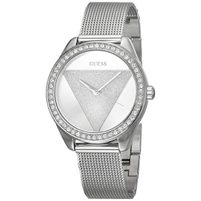 ゲス GUESS 腕時計 レディース Guess Womens Analogue Classic Quartz Watch with Stainless Steel Strap W1142L1ゲス...