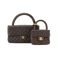 Chanel Pre-Owned フラップ バッグ - ブラウン