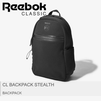 【SALE★最大400円OFFクーポン】送料無料 REEBOK リーボック バックパック ブラックCL バックパック ステルス CL BACKPACK STEALTHDL8652 メンズ レディース