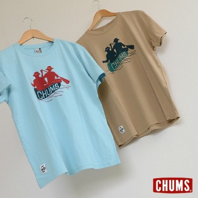 CHUMS Canone T-Shirt ■CH01-1234【メンズ トップス カットソー 半袖 Tシャツ チャムス 】■1000847