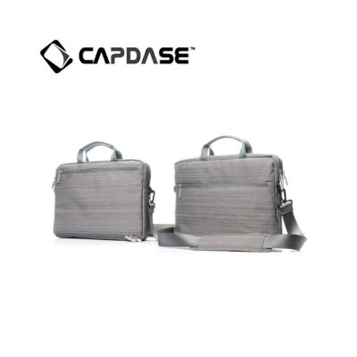 CAPDASE MacBook 15インチ対応 mKeeper Shoulder Bag Gento Plus, Grey