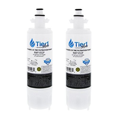 tier1Plus Replacement for lt700p LG冷蔵庫水フィルター 2-Pack RWF1052P-2-PACK