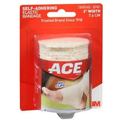 Ace Ace Self-Adhering Elastic Bandage 3 Inches, 3 inches 1 each by ACE