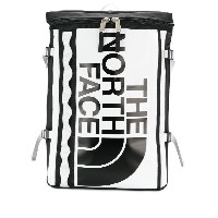 The North Face contrast logo backpack - ブラック