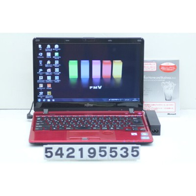 富士通 LIFEBOOK SH54/H Core i3 2350M 2.3GHz/8GB/128GB(SSD)/Multi/13.3W/FWXGA(1366x768)/Win7 Office2010付...