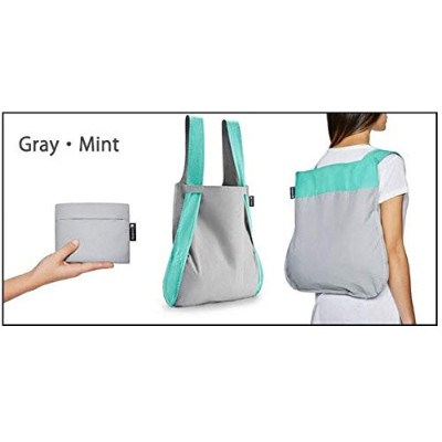 notabag ノットアバッグ BAG&BACKPACK バッグ&バックパック NTB002 Gray・Mint【人気 おすすめ 】