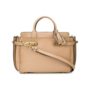 Coach Double Swagger tote - ニュートラル