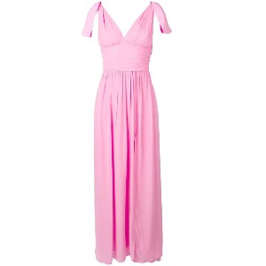 Pinko bow-detail gown - ピンク