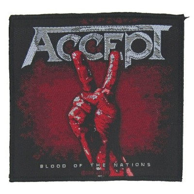 ACCEPT アクセプト Blood Of Nations Patch ワッペン