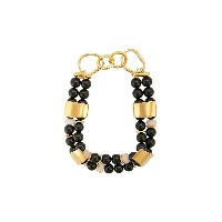 Lizzie Fortunato Jewels Reflection beaded necklace - ブラック
