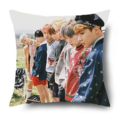 Fanstown KPOP BTS Bangtan Boys in the mood for love EPILOGUE:Young Forever throw pillow Soft velvet...