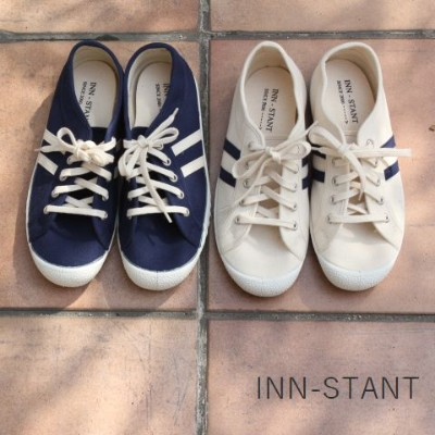 ★★40%OFF★★ INN-STANT(インスタント)CANVAS SHOES 2color737554-59【Re】