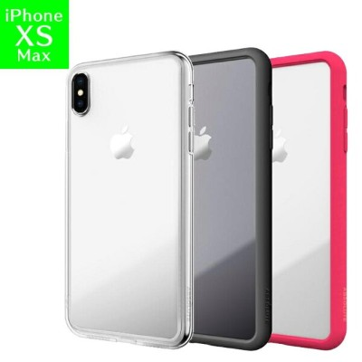 iPhone XS Max ケース LINKASE AIR with Gorilla Glass 側面TPU