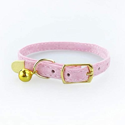Semperole - Cat Collar for Small Dogs Puppies Flocking Cat Puppies Collar Pet Supplies Product...