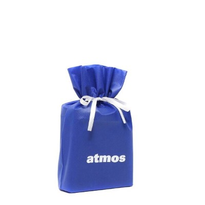 atmos Gift Wrapping Bag (M) (アトモス ギフト ラッピング バック M) BLUE