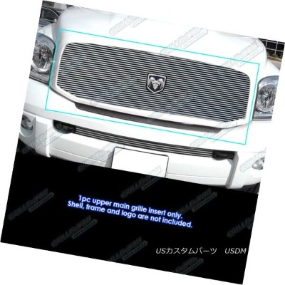 グリル Fits 2006-2008 Dodge Ram Pickup Main Upper Billet Grille Insert 2006-2008 Dodge Ram Pickupメインアッパ...