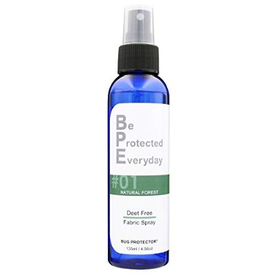 BUG PROTECTOR 虫よけ 消臭 BPE ファブリックスプレー Natural Forest 135ml