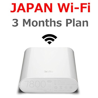 Travelers Wi-Fi / JAPAN Wi-Fi / LTE Unlimited / Wi-Fi Router with Pre-installed SIM card / MF855...