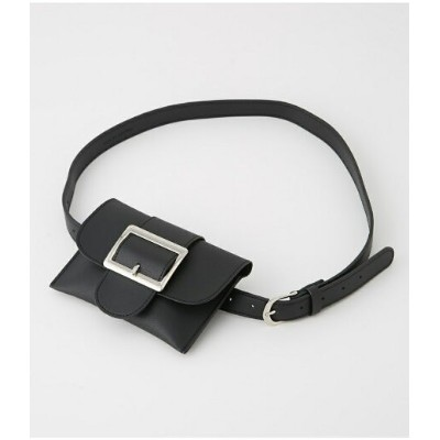AZUL by moussy SQUARE BUCKLE PORCH SET BELT アズールバイマウジー ファッショングッズ