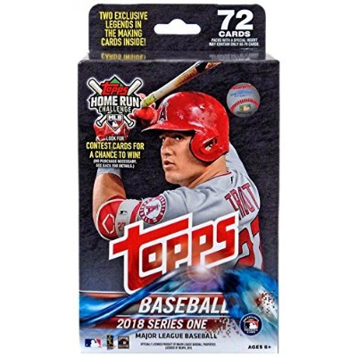 Topps 2018シリーズ1 Collectible野球ハンガーパック(Unopened Factory Sealed)