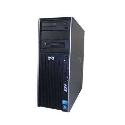 Windows7 Pro 64bit 中古ワークステーション HP Workstation Z400 VS933AV 水冷モデル 後期型 Xeon W3690 6Core 3.46GHz/8GB...