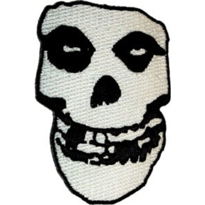 MISFITS Crimson Ghost Skull Patch, Officially Licensed Products Classic Rock Artwork, Iron-On / Sew...