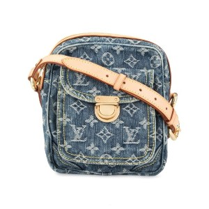LOUIS VUITTON PRE-OWNED ショルダーバッグ - ブルー