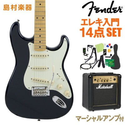 Fender Made in Japan Hybrid 50s Stratocaster Midnight Blue エレキギター 初心者14点セット 【マーシャルアンプ付き】 【フェンダー】...