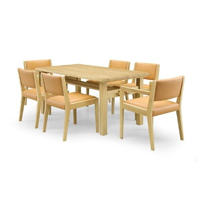 35%OFF [7点] GREEN home style ROSE MARY DINING TABLE 150 + ARM CHAIR A + SIDE CHAIR A (グリーン ホームスタイル...