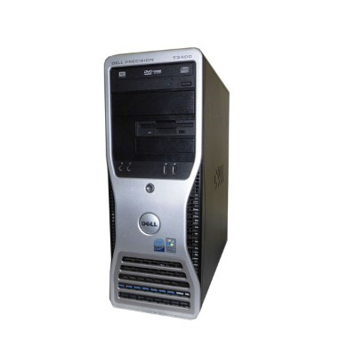 中古ワークステーション WindowsXP DELL PRECISION T3400 Core2Duo E8500 3.16GHz/4GB/500GB×2/NVS290