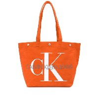 Ck Jeans Utility トートバッグ - オレンジ