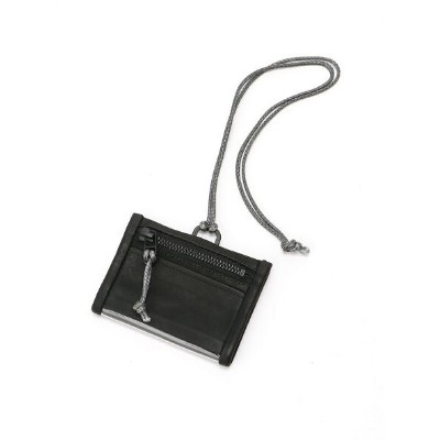 OUT LEATHER OUT LEATHER/(U)ID CASE TYPE1 ダマスキーナ 財布/小物 パスケース/カードケース ブラック グレー【送料無料】