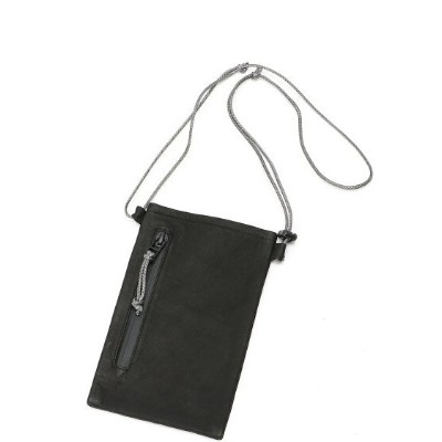 OUT LEATHER OUT LEATHER/(U)SACOCHE TYPE3 S ダマスキーナ バッグ ショルダーバッグ ブラック【送料無料】