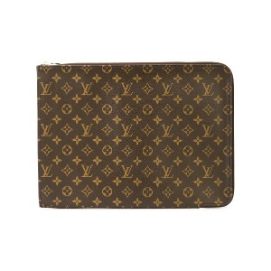 Louis Vuitton Pre-Owned モノグラム PCケース - ブラウン