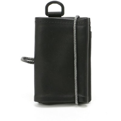 OUT LEATHER OUT LEATHER/(U)WALLET TYPE2 ダマスキーナ 財布/小物 財布 ブラック【送料無料】