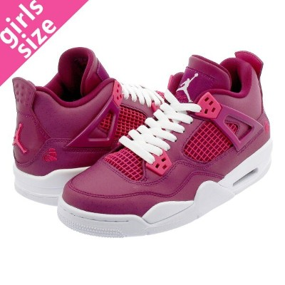 NIKE AIR JORDAN 4 RETRO GS ナイキ エア ジョーダン 4 レトロ GS TRUE BERRY/RUSH PINK/WHITE 487724-661